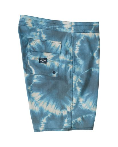 "5 All Day Riot 19"" - Tie-Dye Board Shorts for Men Purple S1BS53BIP0 Billabong"