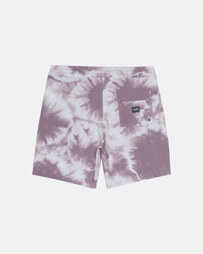 "1 All Day Riot 19"" - Tie-Dye Board Shorts for Men Purple S1BS53BIP0 Billabong"