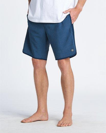 """4 73 19"""" - Bañador de surf de pantalón para Hombre Azul S1BS57BIP0 Billabong"""