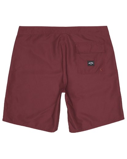 """3 All Day 17"""" - Board Shorts for Men Red S1BS63BIP0 Billabong"""