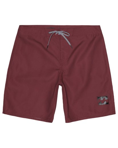 """2 All Day 17"""" - Board Shorts for Men Red S1BS63BIP0 Billabong"""