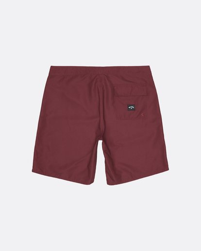 """1 All Day 17"""" - Board Shorts for Men Red S1BS63BIP0 Billabong"""