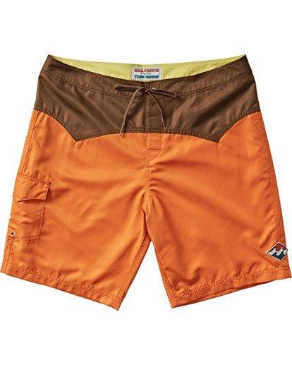 "2 Western Boadshort 19"" - Board Shorts for Men Orange S1BS65BIP0 Billabong"