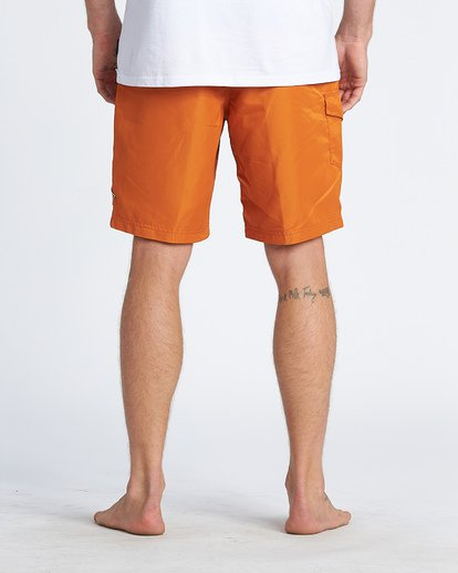 "10 Western Boadshort 19"" - Board Shorts for Men Orange S1BS65BIP0 Billabong"