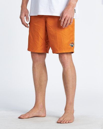 "11 Western Boadshort 19"" - Board Shorts for Men Orange S1BS65BIP0 Billabong"