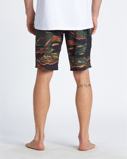 "3 All Day Pro Hi 20"" - Camouflage-Bordshorts für Herren Gemustert S1BS68BIP0 Billabong"