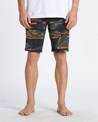 "2 All Day Pro Hi 20"" - Camouflage-Bordshorts für Herren Gemustert S1BS68BIP0 Billabong"