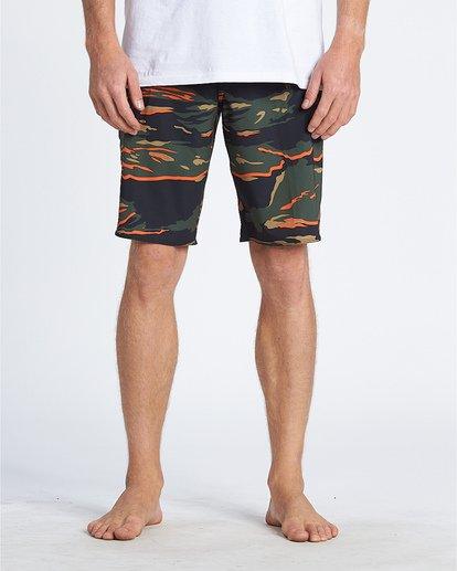 """2 All Day Pro Hi 20"""" - Bañador de surf de pantalón de camuflaje para Hombre Camo S1BS68BIP0 Billabong"""