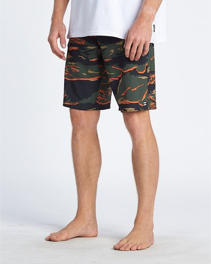 "4 All Day Pro Hi 20"" - Camouflage-Bordshorts für Herren Gemustert S1BS68BIP0 Billabong"