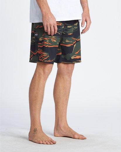 """5 All Day Pro Hi 20"""" - Bañador de surf de pantalón de camuflaje para Hombre Camo S1BS68BIP0 Billabong"""