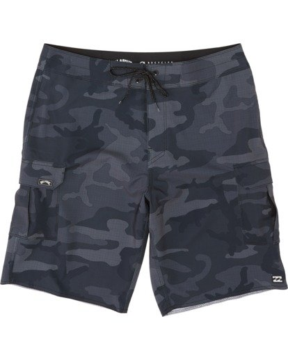 "2 Combat Bbo Pro 20"" - Board Shorts for Men Black S1BS71BIP0 Billabong"