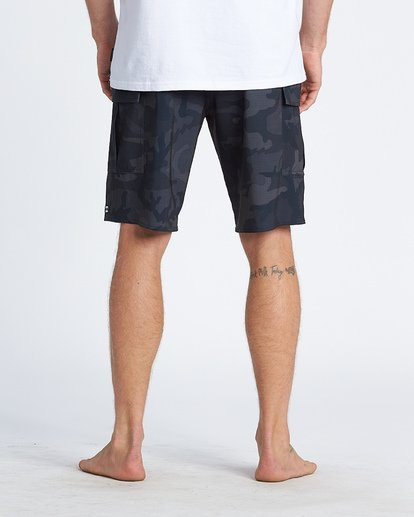 "5 Combat Bbo Pro 20"" - Board Shorts for Men Black S1BS71BIP0 Billabong"