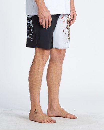 """7 Landmine 19"""" - Bañador de surf de pantalón para Hombre Negro S1BS84BIP0 Billabong"""