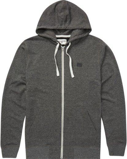 5 All Day Zip - Sweat à capuche zippé léger pour Homme Noir S1FL02BIP0 Billabong