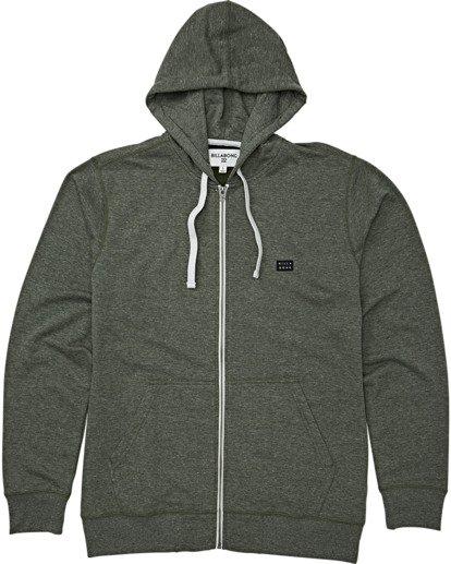 7 All Day Zip - Leichter Hoodie mit Zipper für Herren Gemustert S1FL02BIP0 Billabong