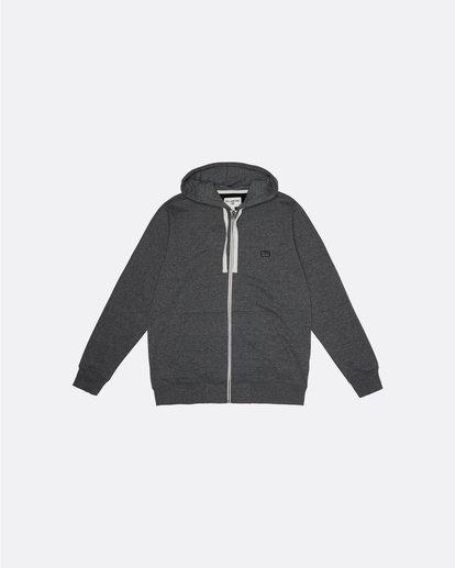 3 All Day Zip - Sweat à capuche zippé léger pour Homme Noir S1FL02BIP0 Billabong
