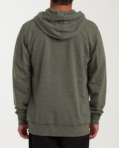 1 All Day Zip - Leichter Hoodie mit Zipper für Herren Gemustert S1FL02BIP0 Billabong