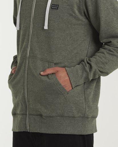 3 All Day Zip - Leichter Hoodie mit Zipper für Herren Gemustert S1FL02BIP0 Billabong