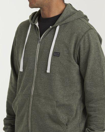 4 All Day Zip - Leichter Hoodie mit Zipper für Herren Gemustert S1FL02BIP0 Billabong