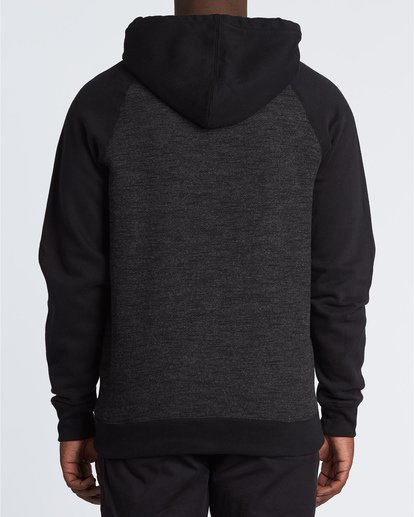 1 Balance Po - Sudadera con capucha para Hombre Negro S1FL03BIP0 Billabong