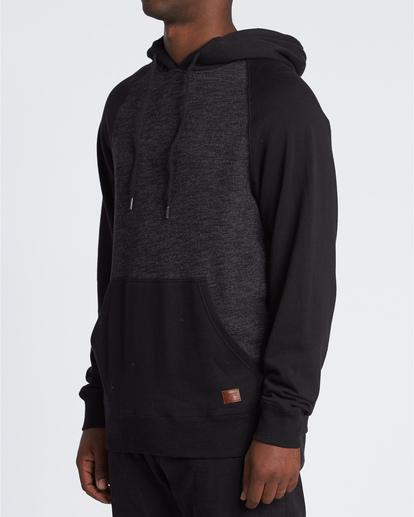 2 Balance Po - Sudadera con capucha para Hombre Negro S1FL03BIP0 Billabong
