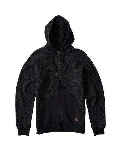 6 Balance Zip - Hoodie mit Zipper für Herren Schwarz S1FL05BIP0 Billabong