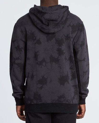 1 Wave Washed Pullover - Batik-Hoodie Sweatshirt für Herren Schwarz S1FL07BIP0 Billabong