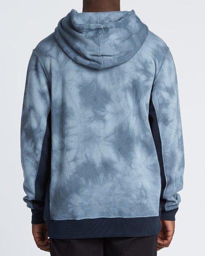 1 Wave Washed Pullover - Tie-Dye Hoodie Sweatshirt for Men Blue S1FL07BIP0 Billabong