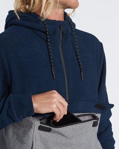 4 Boundary Po - Hoodie for Men Blue S1FL10BIP0 Billabong