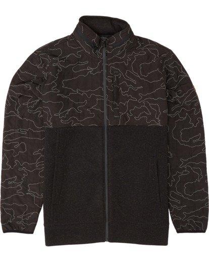 6 Boundary Zip - Veste zippée pour Homme Noir S1FL11BIP0 Billabong