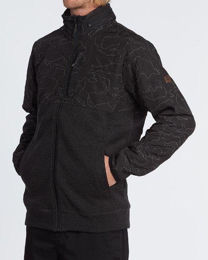 2 Boundary Zip - Veste zippée pour Homme Noir S1FL11BIP0 Billabong