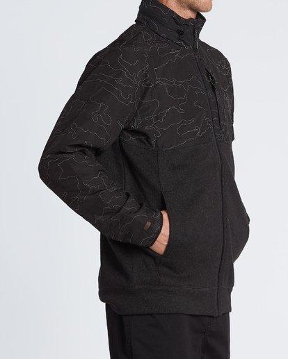 3 Boundary Zip - Veste zippée pour Homme Noir S1FL11BIP0 Billabong