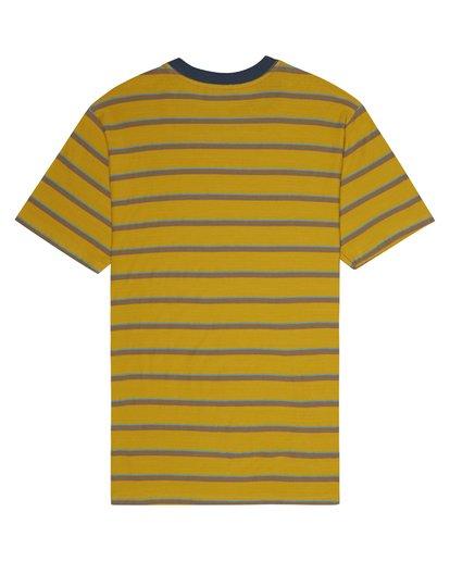 1 Die Cut - T-Shirt à rayures pour Homme Argent S1JE06BIP0 Billabong