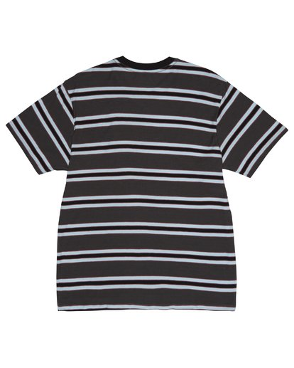 1 Die Cut - Striped T-Shirt for Men Black S1JE06BIP0 Billabong