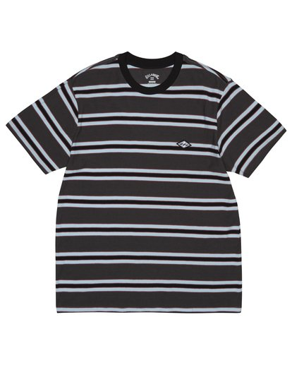 2 Die Cut - Gestreiftes T-Shirt für Herren Schwarz S1JE06BIP0 Billabong