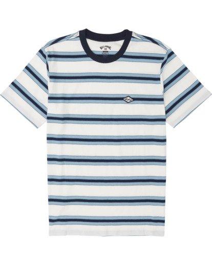 3 Die Cut - Gestreiftes T-Shirt für Herren Weiss S1JE06BIP0 Billabong