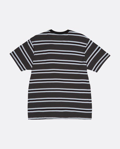 3 Die Cut - Striped T-Shirt for Men Black S1JE06BIP0 Billabong