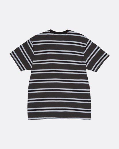 1 Die Cut - Gestreiftes T-Shirt für Herren Schwarz S1JE06BIP0 Billabong