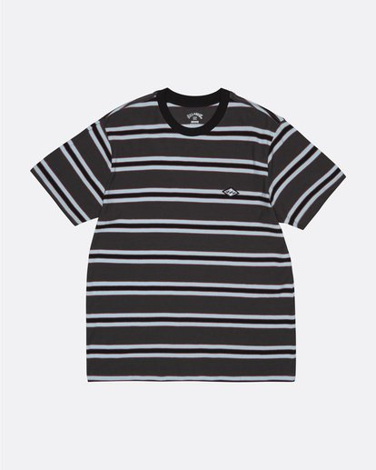 2 Die Cut - Striped T-Shirt for Men Black S1JE06BIP0 Billabong