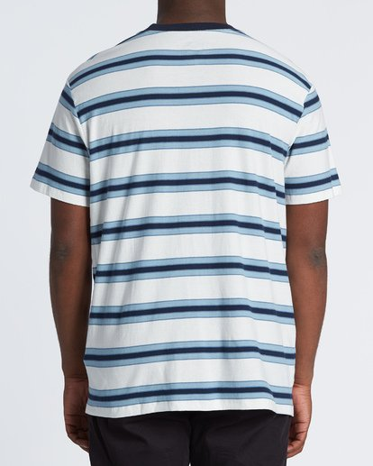 1 Die Cut - Gestreiftes T-Shirt für Herren Weiss S1JE06BIP0 Billabong