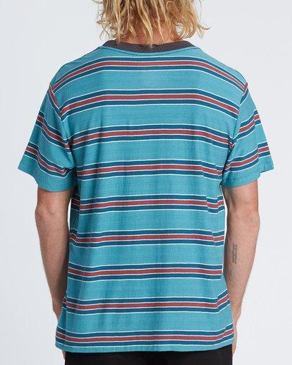 2 Die Cut - Striped T-Shirt for Men Blue S1JE06BIP0 Billabong