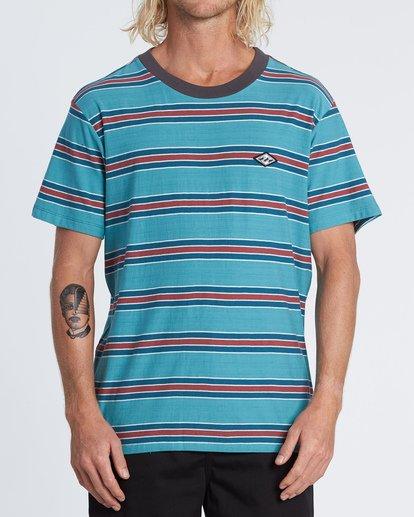 0 Die Cut - Striped T-Shirt for Men Blue S1JE06BIP0 Billabong