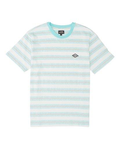 3 Combers - Camiseta de rayas para Hombre Blanco S1JE07BIP0 Billabong
