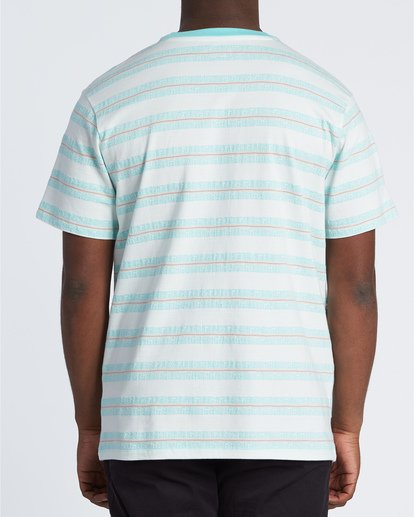 1 Combers - Camiseta de rayas para Hombre Blanco S1JE07BIP0 Billabong