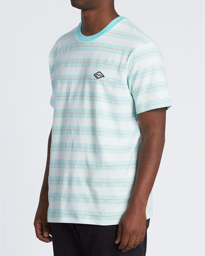 2 Combers - Camiseta de rayas para Hombre Blanco S1JE07BIP0 Billabong