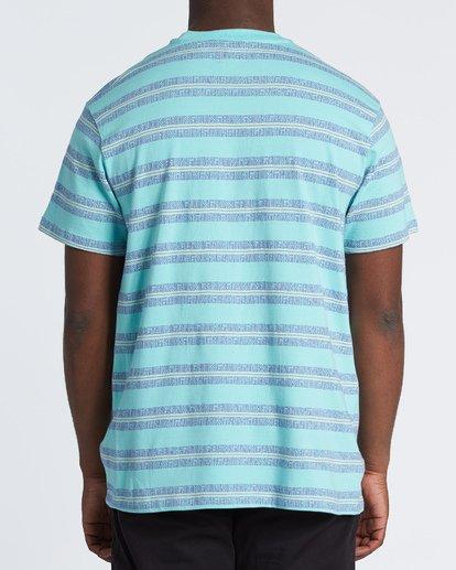 1 Combers - Camiseta de rayas para Hombre Azul S1JE07BIP0 Billabong