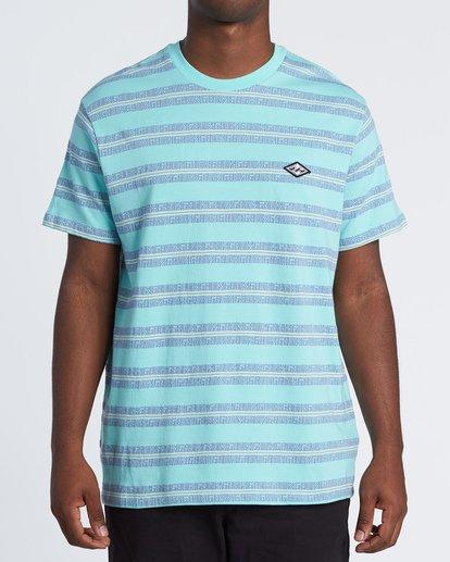 0 Combers - Camiseta de rayas para Hombre Azul S1JE07BIP0 Billabong