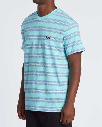 2 Combers - Camiseta de rayas para Hombre Azul S1JE07BIP0 Billabong