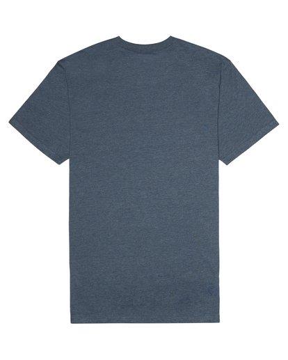 3 Allday - T-Shirt für Herren Blau S1JE15BIP0 Billabong