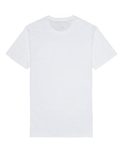 3 Allday Printed - T-Shirt für Herren Weiss S1JE16BIP0 Billabong